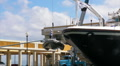 Puerto Rico - HD Mega Yacht raises dingy Footage