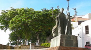 Stock Video Footage of Puerto Rico - HD Plaza La Rogativa Old San Juan