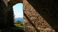 Puerto Rico - HD Spanish Era Leper Colony Building Ruins 5 Stock Footage