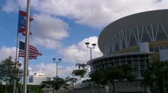 Puerto Rico Coliseum - Choliseo 3 HD Stock Footage