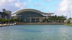 Puerto Rico Convention Center 1 HD Stock Footage