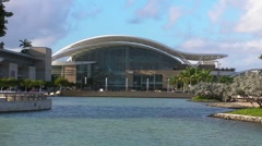 Puerto Rico Convention Center 2 HD Stock Footage