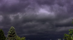 Real Time Dramatic Storm Clouds HD Stock Footage