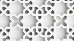Islamic elements Stock Footage