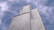 Stock Video Footage of Sears Tower (time lapse)