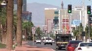 Stock Video Footage of VegasStrip