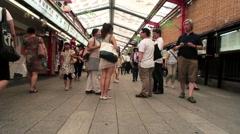 Tokyo-Senso-Ji 016 Stock Footage