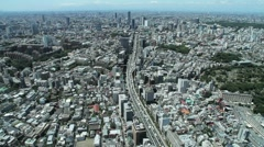 Tokyo Roppongi Hills Tower 001 - stock footage