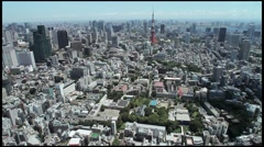 Tokyo Roppongi Hills Tower 003 - stock footage