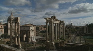 Rome Ancient City (different view) Stock Footage