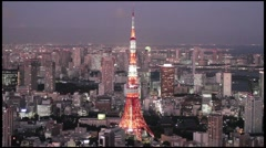 Tokyo Roppongi Hills Tower 014 - stock footage