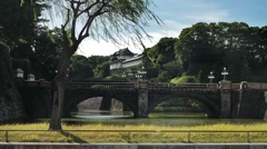 Tokyo Imperial Palace 001 Stock Footage