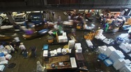 Stock Video Footage of Tokyo Fish Market 026