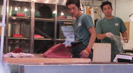 Stock Video Footage of Tokyo Fish Market 001