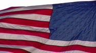 Ordinary American Flag Stock Footage