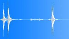 Storage Case Open Latches 02 - sound effect