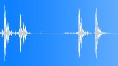 Storage Case Open Latches 04 - sound effect