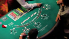 Blackjack Stock Footage
