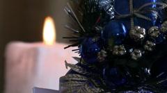 Xmas Decoration  01 Stock Footage