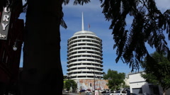 Capitol Records 04 HD Stock Footage