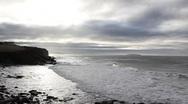 Ocean Waves Sunlight Stock Footage