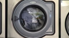 Washer 01 Stock Footage