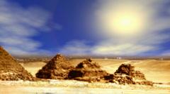 Giza Pyramids - stock footage