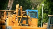 Stock Video Footage of Tractors-earthmover cu