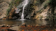 Waterfall 03 - wide Stock Footage