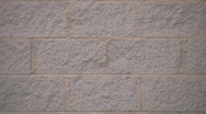 Cement Brick wall (close Up) Stock Footage