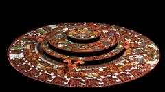 Maya-kalenterin Countdown to 2012 (teknisesti Aztec ei mayojen) Arkistovideo