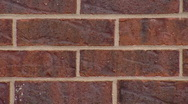 Red Brick Wall (close Up) Stock Footage