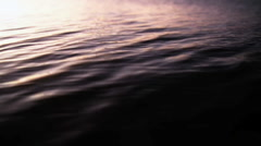 Ocean surface close-up Stock Footage