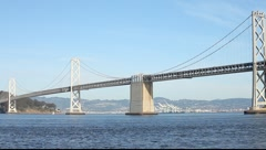 SF Bay Bridge MVI 3459 Stock Footage