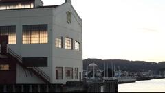 SF Fort Mason Pier Stock Footage