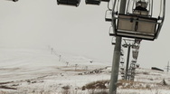 Stock Video Footage of On the Ski Lift