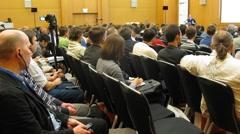 Jonathan Ross reports on II International Conference STOCKinRUSSIA10 - stock footage