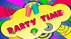 Stock Video Footage of party time