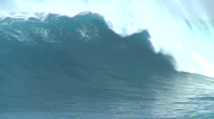 4 Waves At Jaws Stock Footage