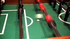 Foosball / Soccer  Stock Footage
