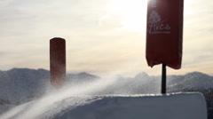 Ski Jump 5 Stock Footage