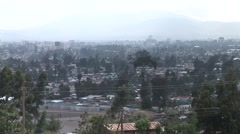Stock Video Footage of Addis Ababa wide shot