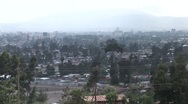 Addis Ababa wide shot Stock Footage