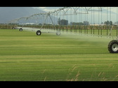 Stock Video Footage of Large Agricultural Irrigation System Time Lapse NTSC DV