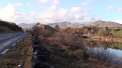 Connemara Landscape 3 Stock Footage