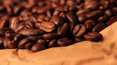 Coffee Beans Stock Footage