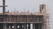 Stock Video Footage of Addis Ababa Ethiopia Building Construction