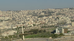 Nazareth Panorama P1 Stock Footage