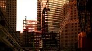 New York-Building Frameworks B Stock Footage