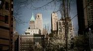 New York-lower manhattan Stock Footage